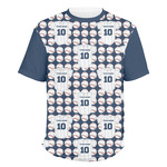 Baseball Jersey Men's Crew T-Shirt (Personalized)