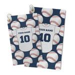 Baseball Jersey Microfiber Golf Towel (Personalized)
