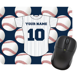Baseball Jersey Mouse Pad (Personalized)