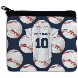 Baseball Jersey Rectangular Coin Purse (Personalized)