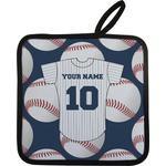 Baseball Jersey Pot Holder (Personalized)