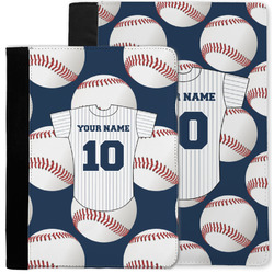 Baseball Jersey Notebook Padfolio w/ Name and Number