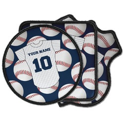 Baseball Jersey Iron on Patches (Personalized)