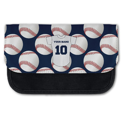 Baseball Jersey Canvas Pencil Case w/ Name and Number