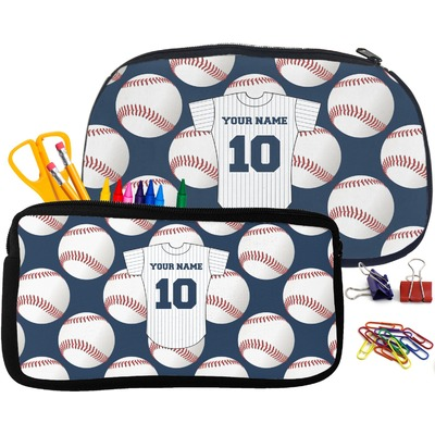 Baseball Jersey Pencil / School Supplies Bag (Personalized)