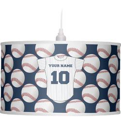 Baseball Jersey Drum Pendant Lamp (Personalized)