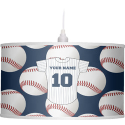 Baseball Jersey Drum Pendant Lamp (Personalized)