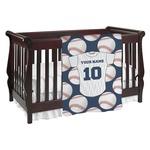 Baseball Jersey Baby Blanket (Personalized)