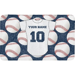Baseball Jersey Bath Mat (Personalized)