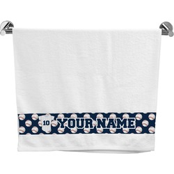 Baseball Jersey Bath Towel (Personalized)