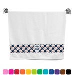 Baseball Jersey Bath Towel (Personalized)