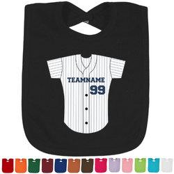 Baseball Jersey Baby Bib - 14 Bib Colors (Personalized)
