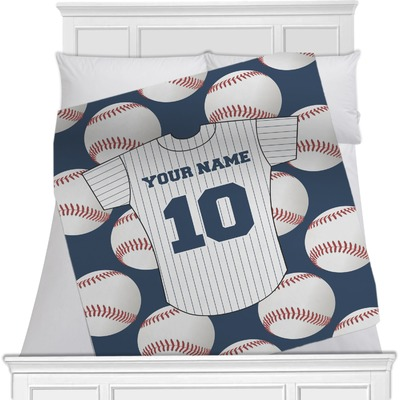 Baseball Jersey Blanket (Personalized)