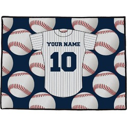 Baseball Jersey Door Mat (Personalized)