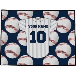 Baseball Jersey Door Mat (Personalized)
