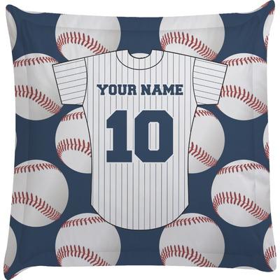 Baseball Jersey Euro Sham Pillow Case (Personalized)