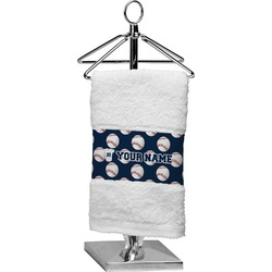 Baseball Jersey Cotton Finger Tip Towel (Personalized)