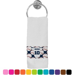 Baseball Jersey Hand Towel (Personalized)