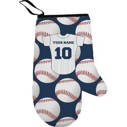Baseball Jersey Right Oven Mitt (Personalized)