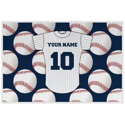 Baseball Jersey Placemat (Laminated) (Personalized)