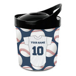 Baseball Jersey Plastic Ice Bucket (Personalized)