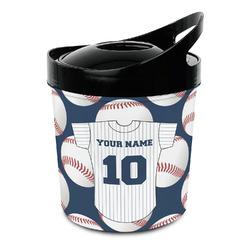 Baseball Jersey Plastic Ice Bucket (Personalized)