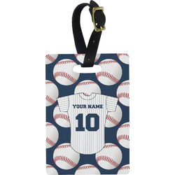 Baseball Jersey Rectangular Luggage Tag (Personalized)