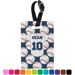 Baseball Jersey Rectangular Luggage Tag (Personalized)