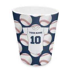 Baseball Jersey Plastic Tumbler 6oz (Personalized)