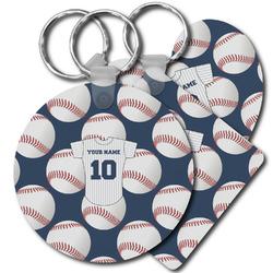 Baseball Jersey Plastic Keychains (Personalized)