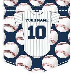 Baseball Jersey Iron On Faux Pocket (Personalized)