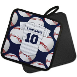 Baseball Jersey Pot Holder w/ Name and Number