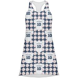 Baseball Jersey Racerback Dress (Personalized)
