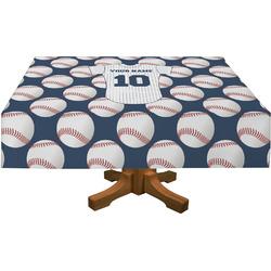 "Baseball Jersey Tablecloth - 58""x102"" (Personalized)"