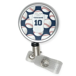Baseball Jersey Retractable Badge Reel (Personalized)