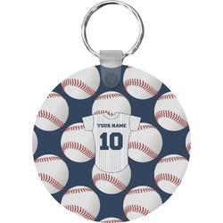 Baseball Jersey Round Keychain (Personalized)