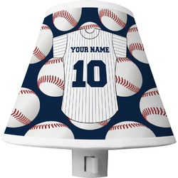 Baseball Jersey Shade Night Light (Personalized)