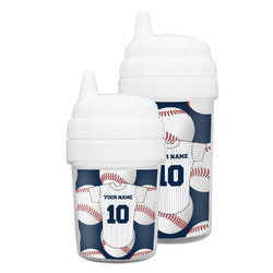 Baseball Jersey Sippy Cup (Personalized)