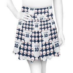 Baseball Jersey Skater Skirt (Personalized)