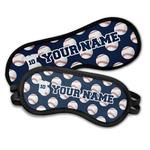 Baseball Jersey Sleeping Eye Masks (Personalized)