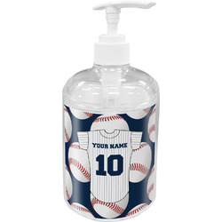 Baseball Jersey Soap / Lotion Dispenser (Personalized)