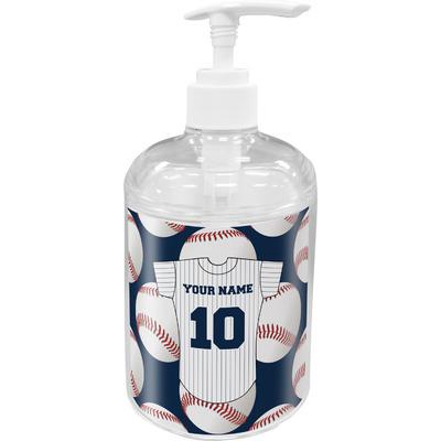 Baseball Jersey Soap / Lotion Dispenser (Personalized)