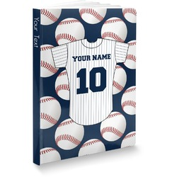 Baseball Jersey Softbound Notebook (Personalized)