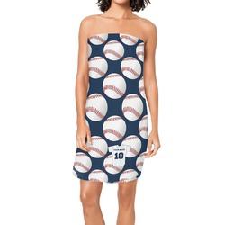 Baseball Jersey Spa / Bath Wrap (Personalized)