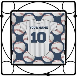 Baseball Jersey Trivet (Personalized)