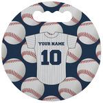 Baseball Jersey Stadium Cushion (Round) (Personalized)