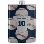 Baseball Jersey Stainless Steel Flask (Personalized)