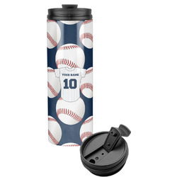 Baseball Jersey Stainless Steel Travel Tumbler (Personalized)