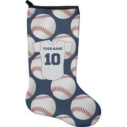 Baseball Jersey Christmas Stocking - Neoprene (Personalized)