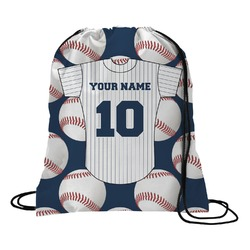 Baseball Jersey Drawstring Backpack (Personalized)